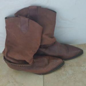 Vintage Paolo Fellicce men's dress boots size 12